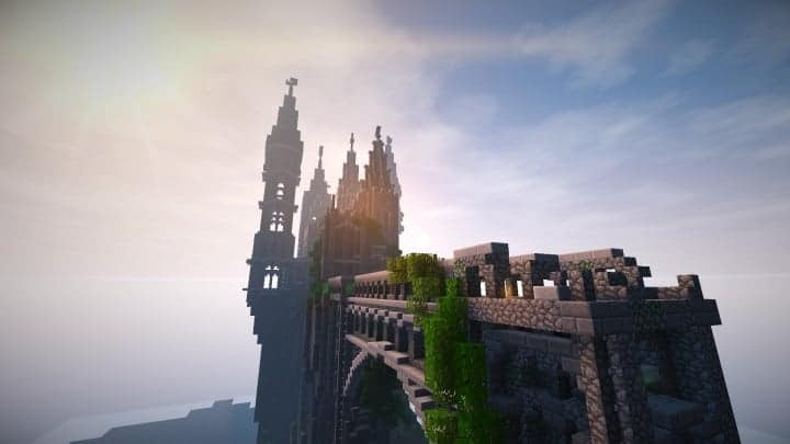 Abandoned Caribbean Castle minecraft building download save ideas 9
