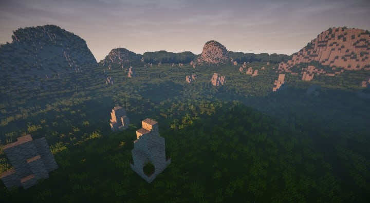 Bree Settlement of Men lotr minecraft build village download vidoe 10