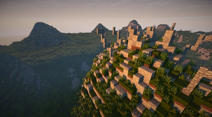 Bree Settlement of Men lotr minecraft build village download vidoe 11