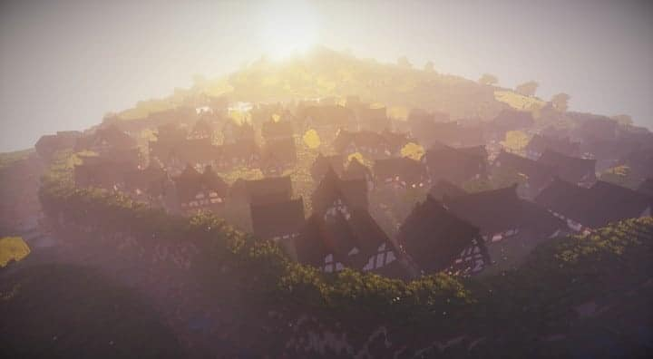 Bree Settlement of Men lotr minecraft build village download vidoe 3