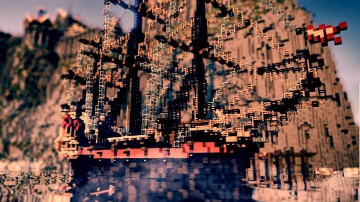 Castillo - Isla Alta minecraft building ideas blueprints video download  05