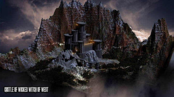 Castle of Wicked Witch of West 01