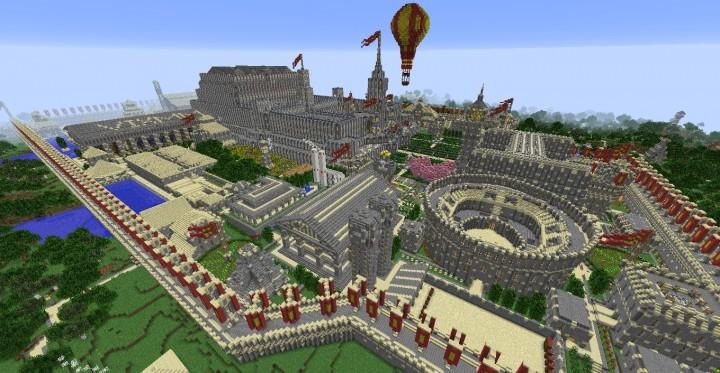 Cythera minecraft city download balloon ideas build