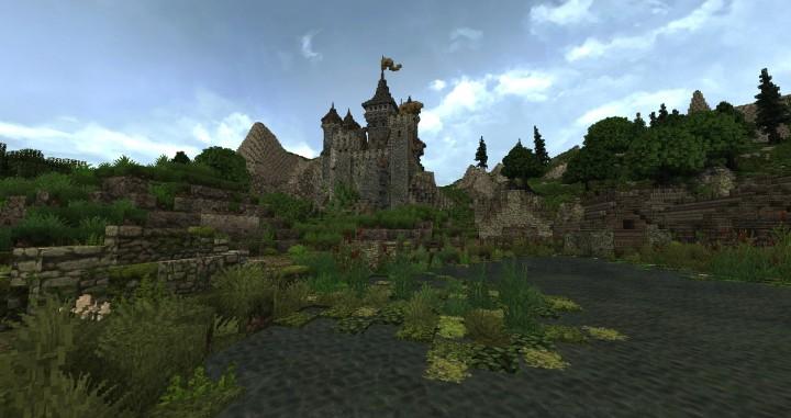 Dimmerstone World of Targur minecraft city village midevil build ideas 2