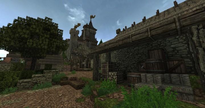 Dimmerstone World of Targur minecraft city village midevil build ideas 3