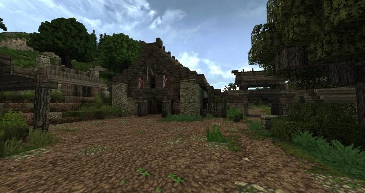 Dimmerstone World of Targur minecraft city village midevil build ideas 4
