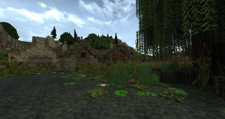 Dimmerstone World of Targur minecraft city village midevil build ideas 5