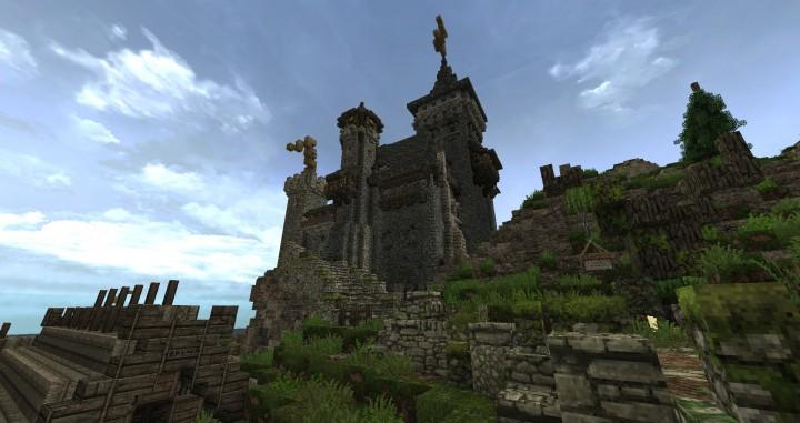 Dimmerstone World of Targur minecraft city village midevil build ideas 6