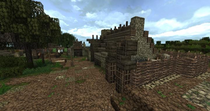 Dimmerstone World of Targur minecraft city village midevil build ideas 7