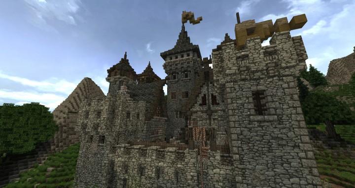 Dimmerstone World of Targur minecraft city village midevil build ideas 8