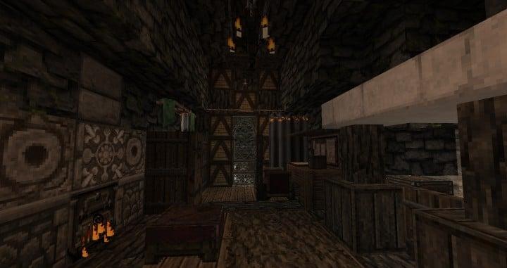 Dimmerstone World of Targur minecraft city village midevil build ideas 9