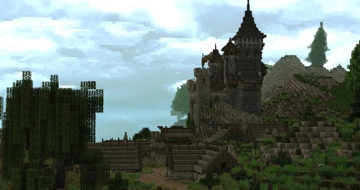 Dimmerstone World of Targur minecraft city village midevil build ideas