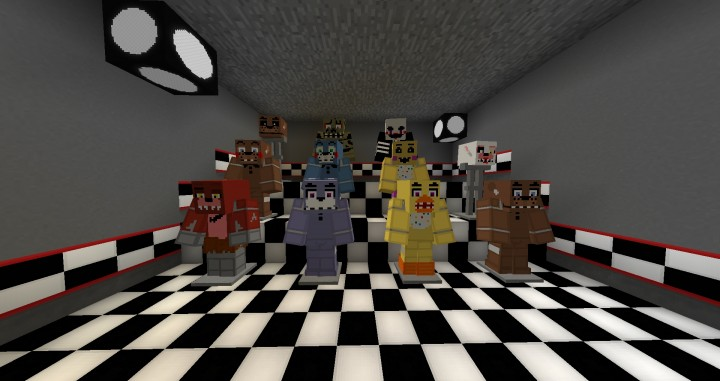 Five Nights At Freddy's Pack 2 0 | Resource Pack – Minecraft