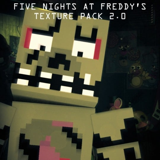 Five Nights At Freddy's Pack 2.0  Resource Pack 1.8.1 download screenshots