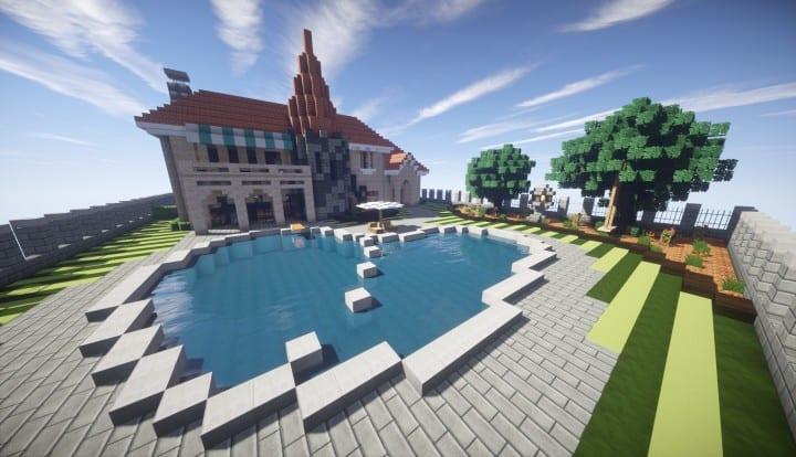 Kanomata S Modern House Minecraft Building Inc