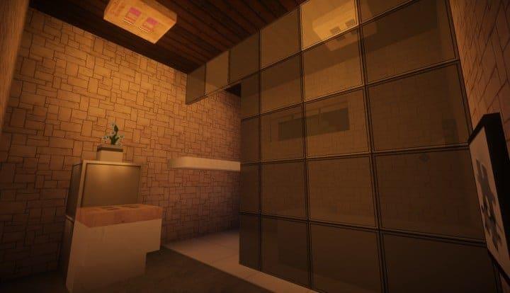 Kanomata's Modern House minecraft build home download blueprints 05