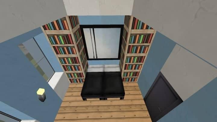 Small Cozy Suburban House minecraft blueprints building ideas 10