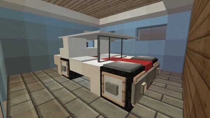 Small Cozy Suburban House minecraft blueprints building ideas 12