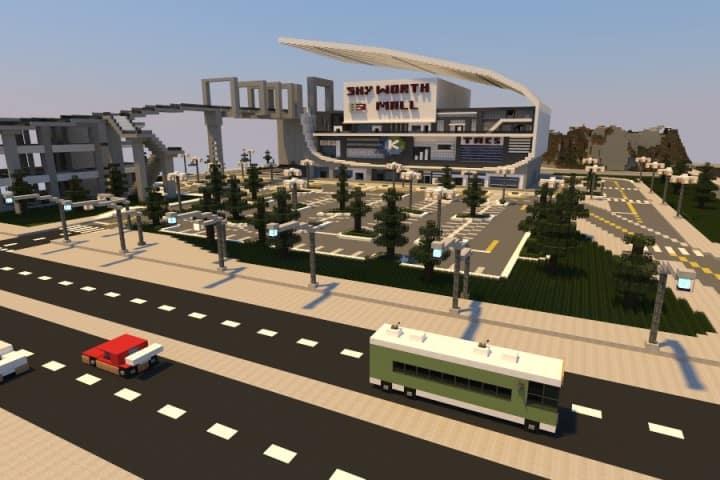 Swamp Lake City minecraft building ideas 03