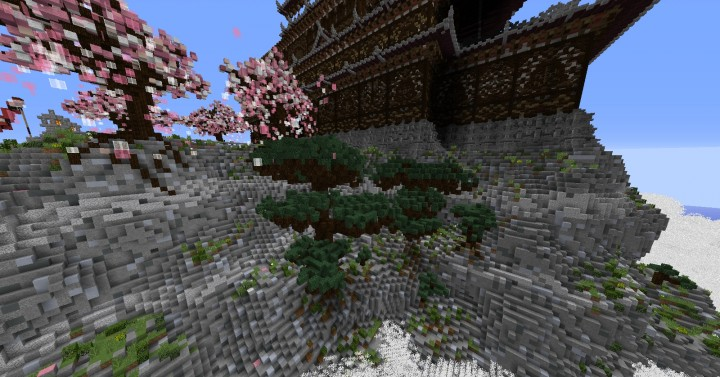 Temple of the Spirit of Cherry Blossom minecraft Chinese 10