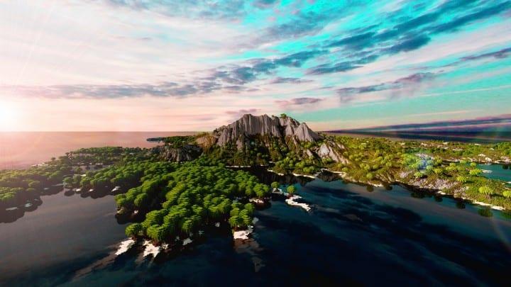 The Origin Lands Zorilak of Dasgnir custom terrain 8k by 8k world islands 12