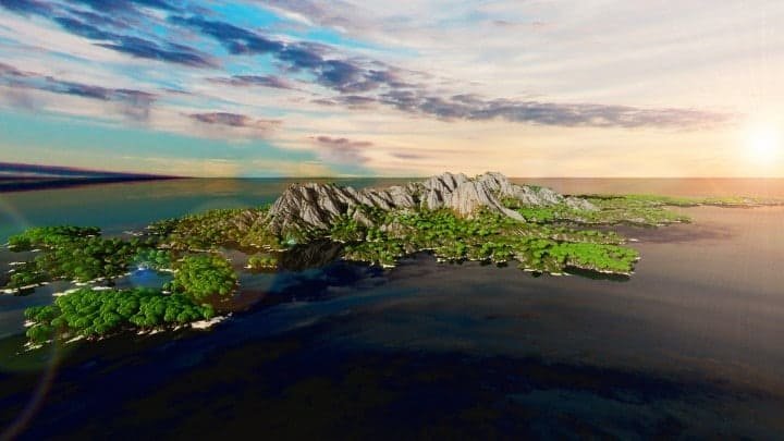 The Origin Lands Zorilak of Dasgnir custom terrain 8k by 8k world islands 13