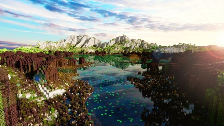 The Origin Lands Zorilak of Dasgnir custom terrain 8k by 8k world islands 15