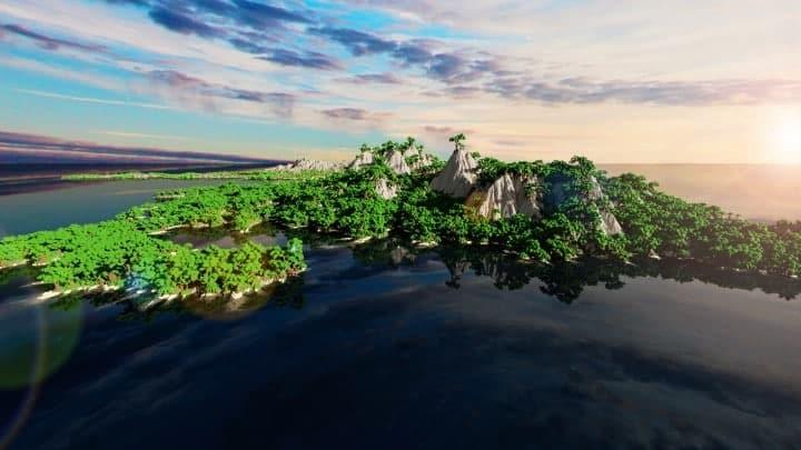 The Origin Lands Zorilak of Dasgnir custom terrain 8k by 8k world islands 20