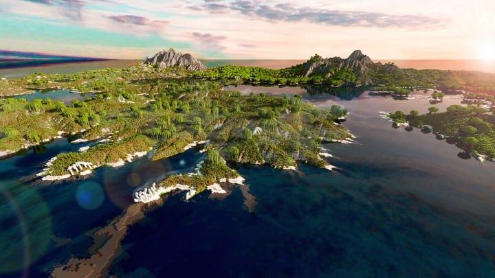 The Origin Lands Zorilak of Dasgnir custom terrain 8k by 8k world islands