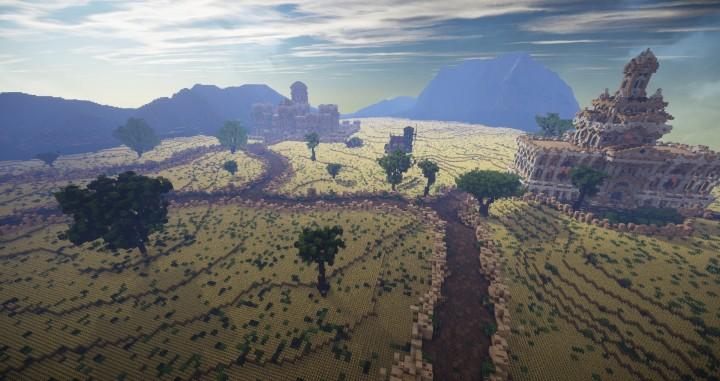 Aarun Oriental Fantasy City 1000x1000 minecraft download build 11 valley