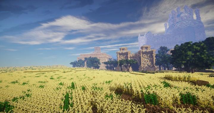 Aarun Oriental Fantasy City 1000x1000 minecraft download build 13 farm