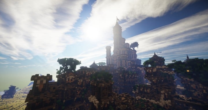 Aarun Oriental Fantasy City 1000x1000 minecraft download build 16 castle