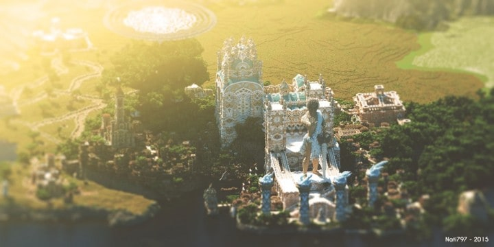 Aarun Oriental Fantasy City 1000x1000 minecraft download build  2