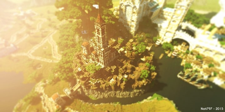 Aarun Oriental Fantasy City 1000x1000 minecraft download build  3