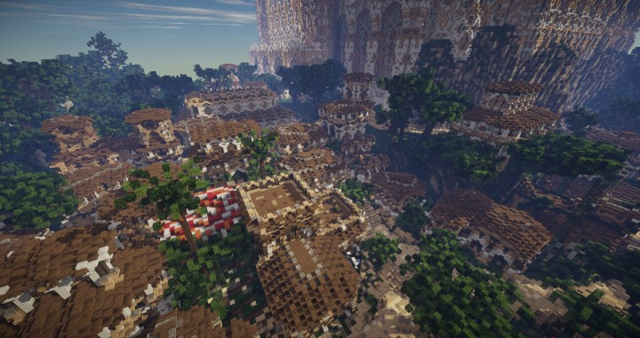 Aarun Oriental Fantasy City 1000x1000 minecraft download build  6