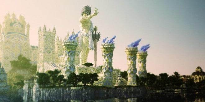 Aarun Oriental Fantasy City 1000x1000 minecraft download build