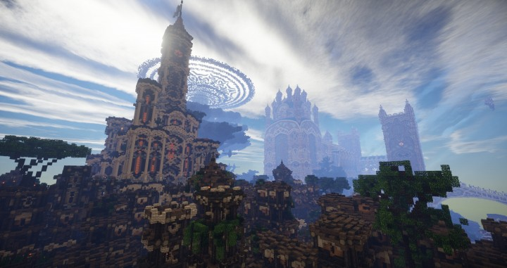 Aarun Oriental Fantasy City 1000x1000 minecraft download build  7 castle
