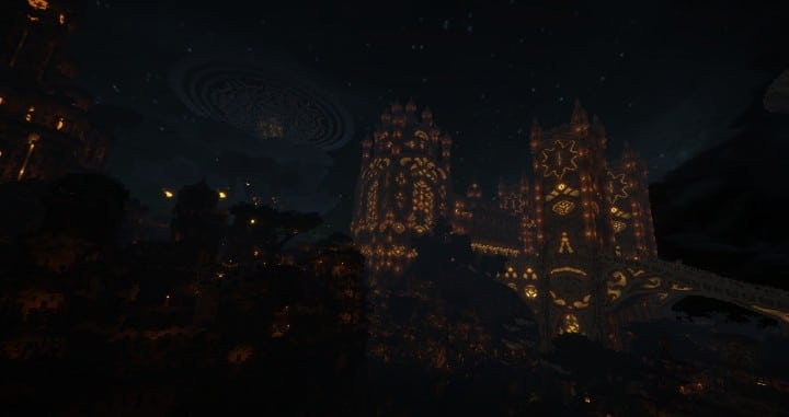 Aarun Oriental Fantasy City 1000x1000 minecraft download build  9 night