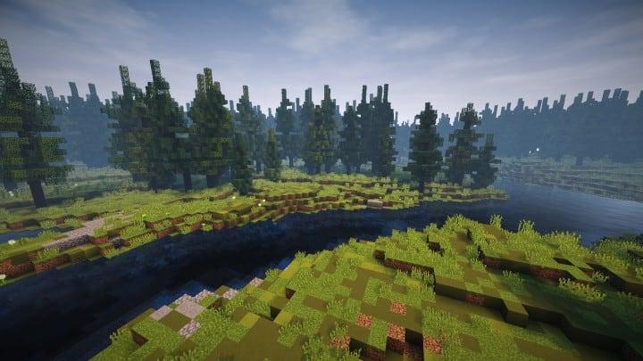 Abandoned Medieval Castle minecraft building blueprints download river 12