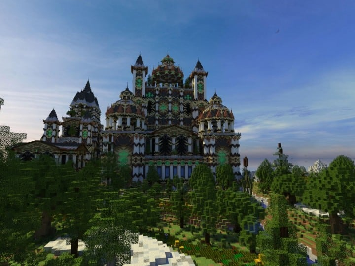 Andor The Two Suns city castle minecraft build ideas download tree river mote 4