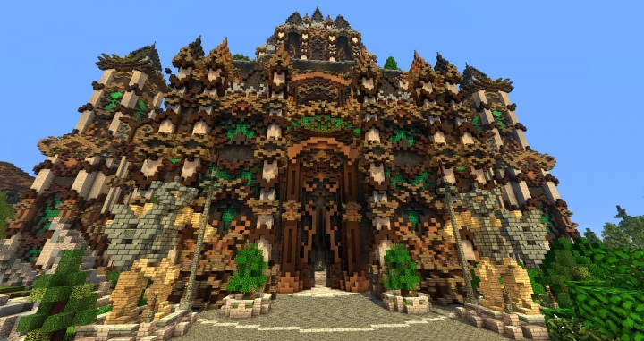 Andor The Two Suns city castle minecraft build ideas download tree river mote 6