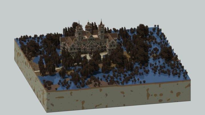 Ausonforche Asylumn minecraft building ideas download castle fort palace 3