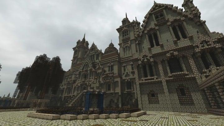 Ausonforche Asylumn minecraft building ideas download castle fort palace 5