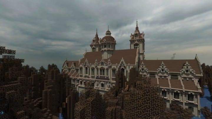 Ausonforche Asylumn minecraft building ideas download castle fort palace 6