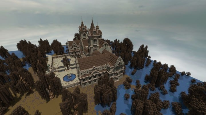 Ausonforche Asylumn minecraft building ideas download castle fort palace 7