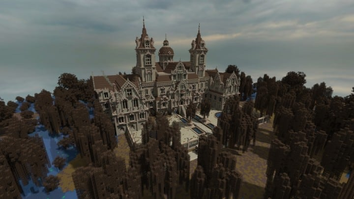 Ausonforche Asylumn minecraft building ideas download castle fort palace
