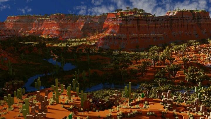 Custom Biome terrain map 4kx4k world painter world machine download minecraft 13