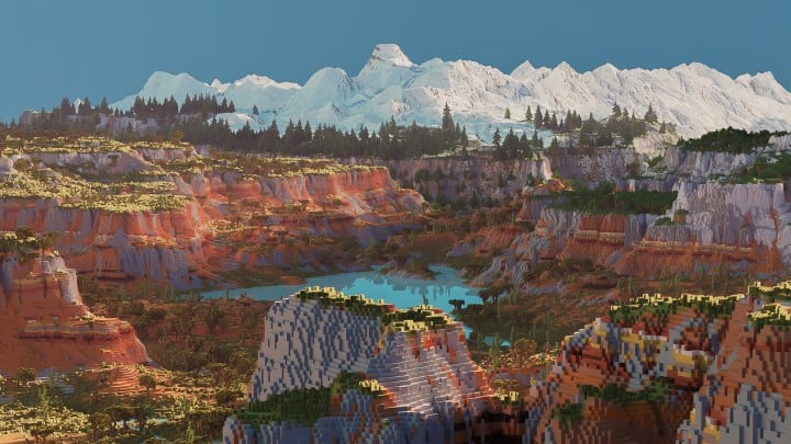 Custom Biome terrain map 4kx4k world painter world machine download minecraft 2