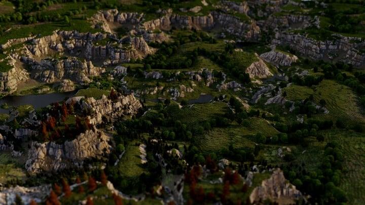 Custom Biome terrain map 4kx4k world painter world machine download minecraft 8