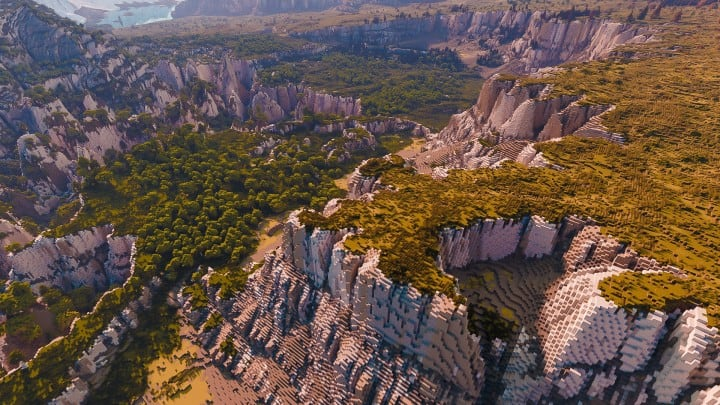 Custom Biome terrain map 4kx4k world painter world machine download minecraft 9